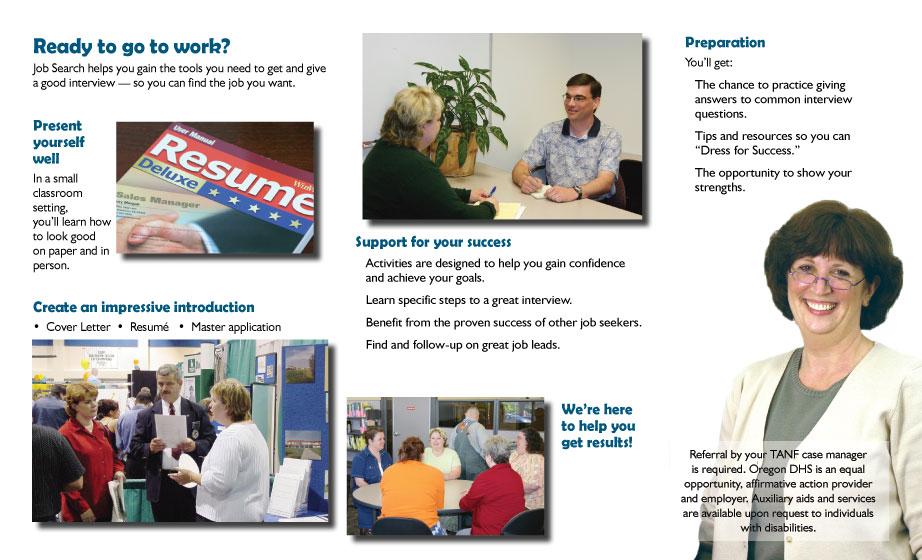 jobs plus brochure job search brochure