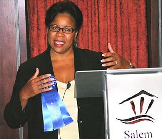 Flora Devine, Diversity Conference keynote speaker